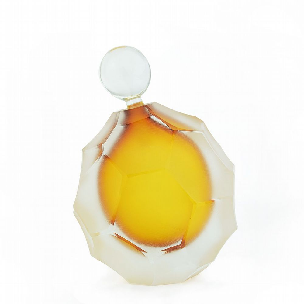 Beehive Perfume Decanter - Amber